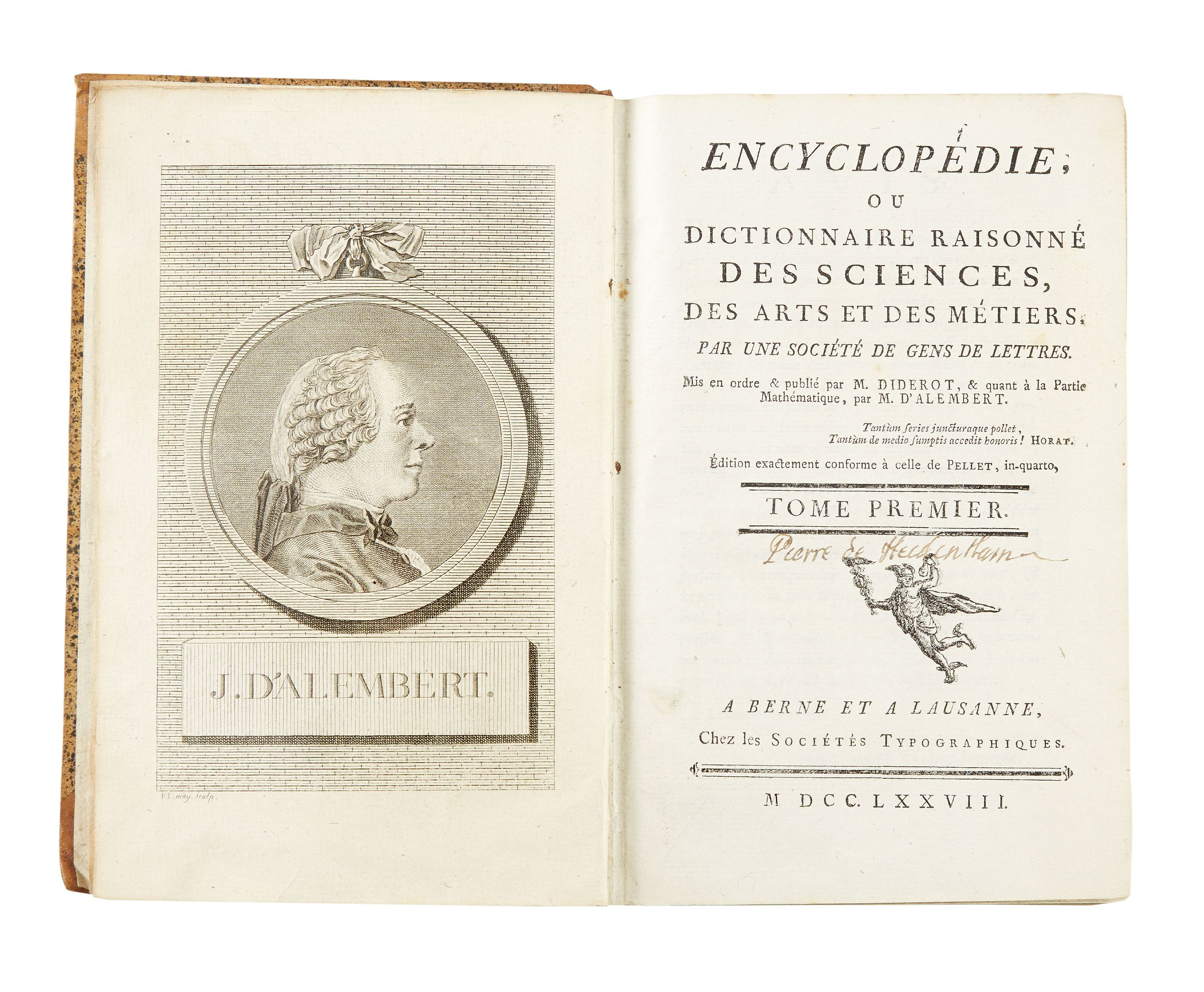 Diderot - d'Alemberts great Encyclopédie