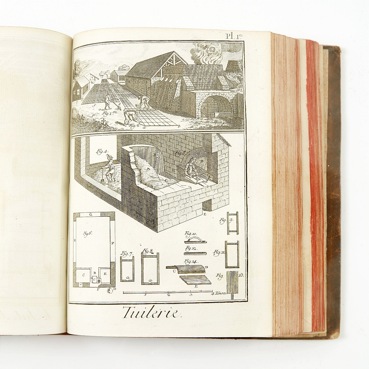 Diderot- D'Alembert Encyclopedia in quarto edition