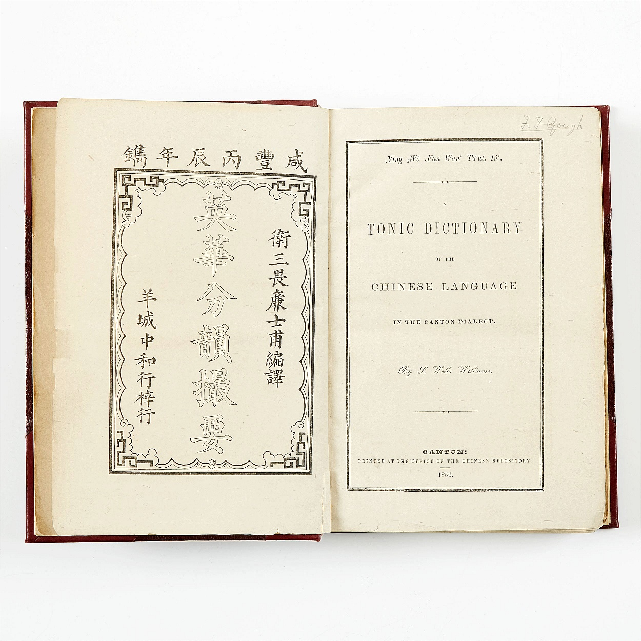 A Tonic Dictionary of the Chinese Language