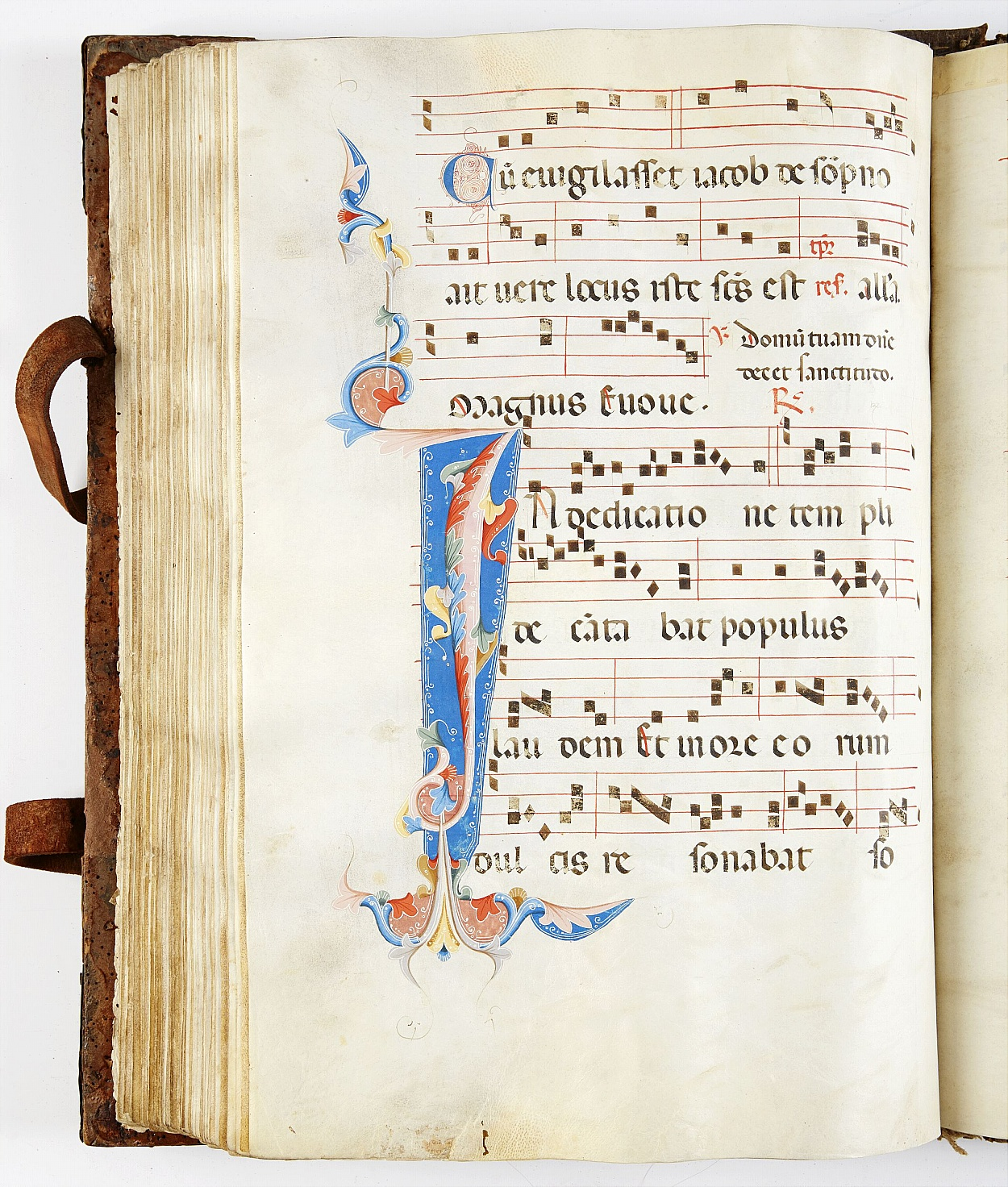 Early 14th century large antiphoner Italy