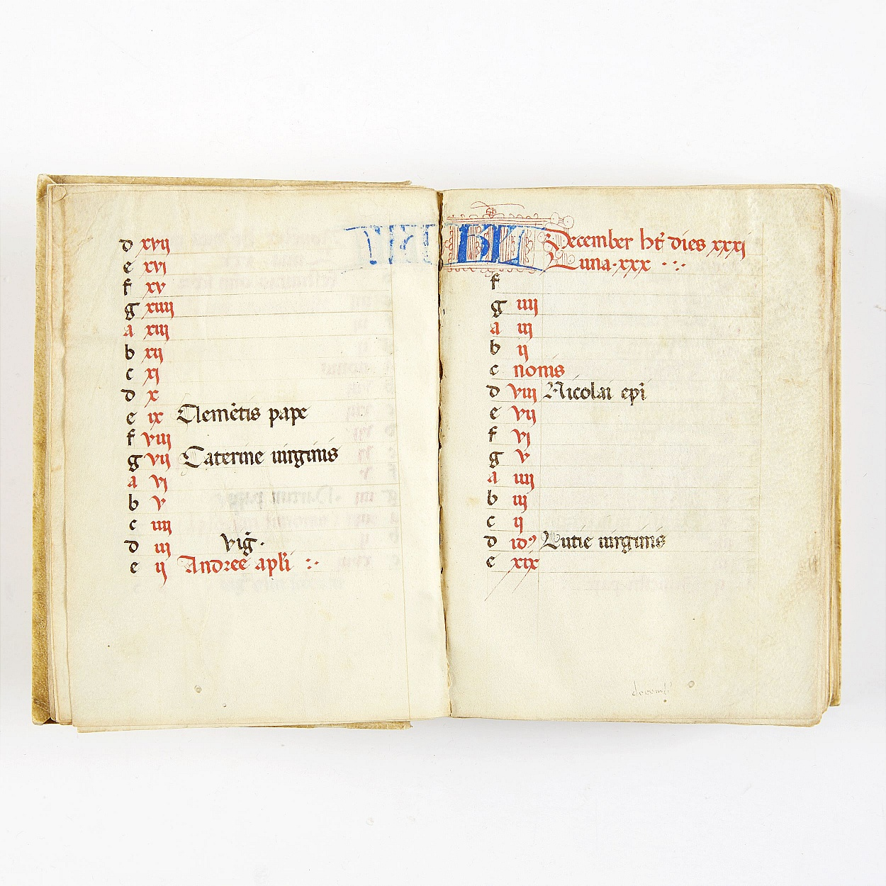 Book of Hours 15th century not complete