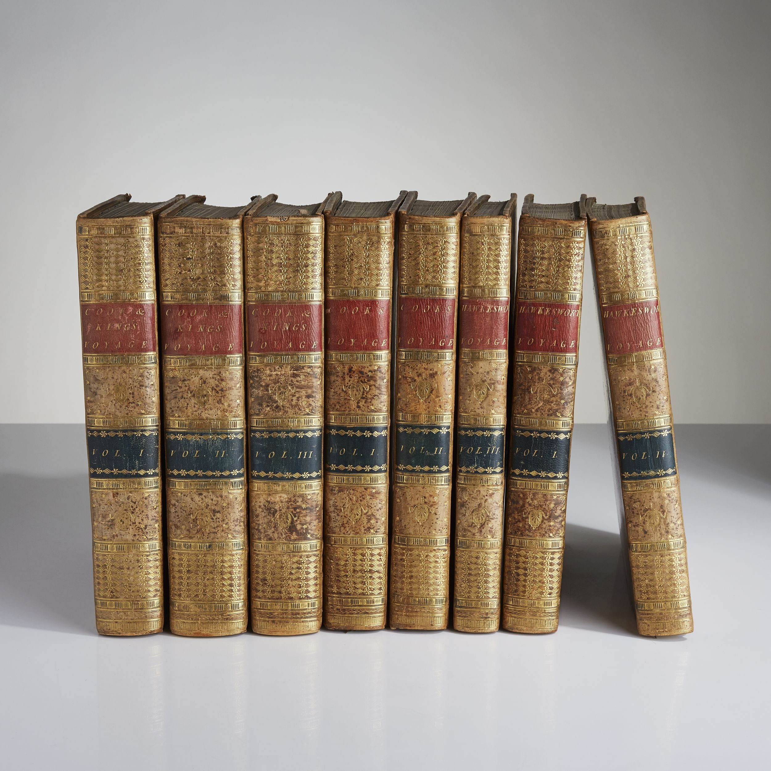 A fine set of Cook's three voyages 1773-85