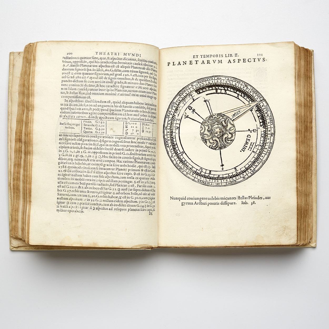 First modern celestial atlas by Gallucci 1588