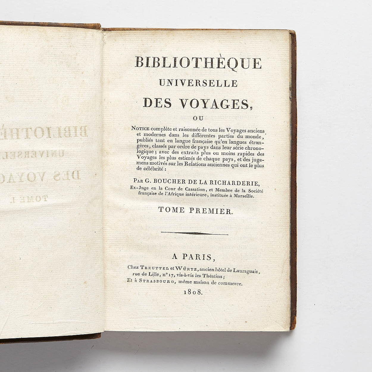 A bibliography of travels 1808
