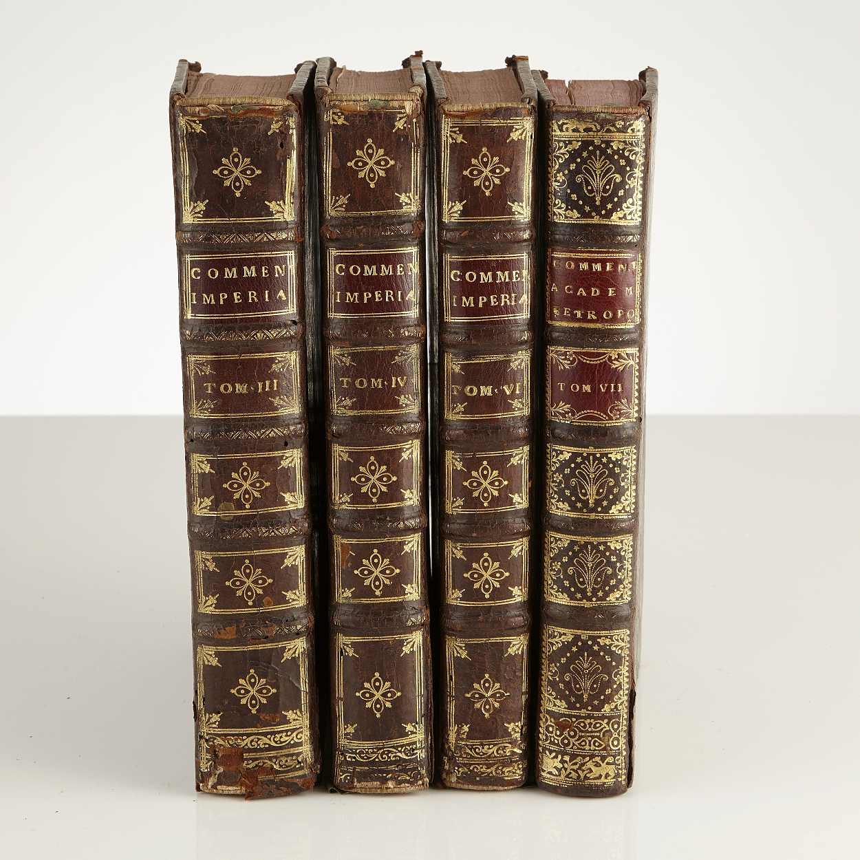 Works by G. S. Bayer 4 volumes 1733-41