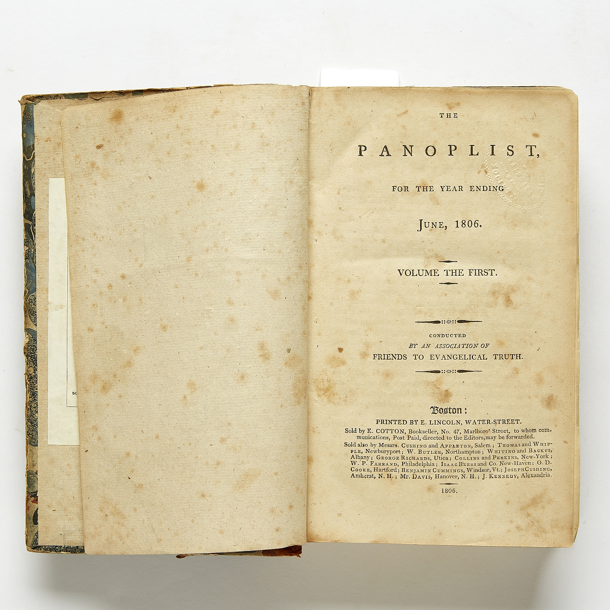 The Panoplist, important source on China 1806