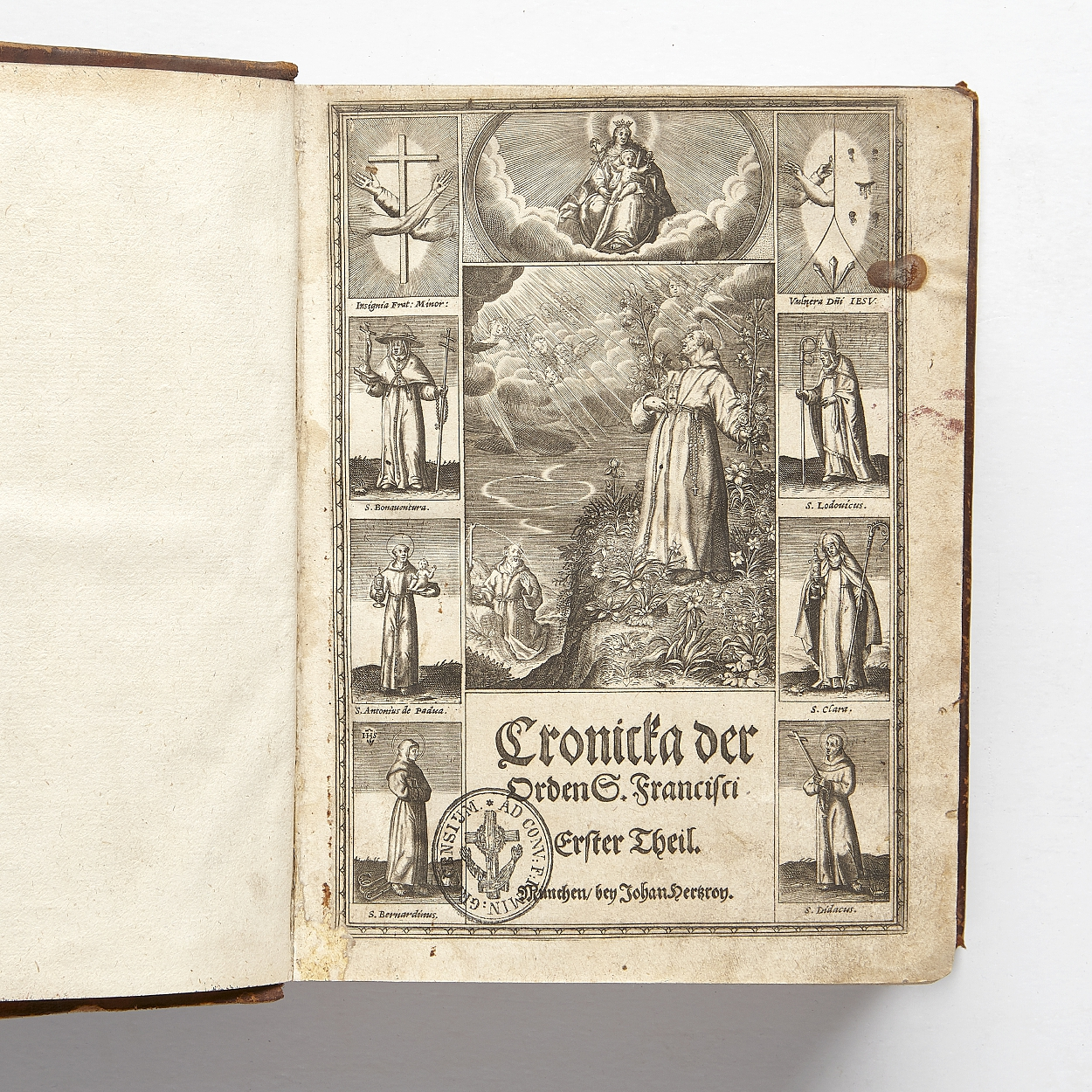History of the Friars Minor 1620