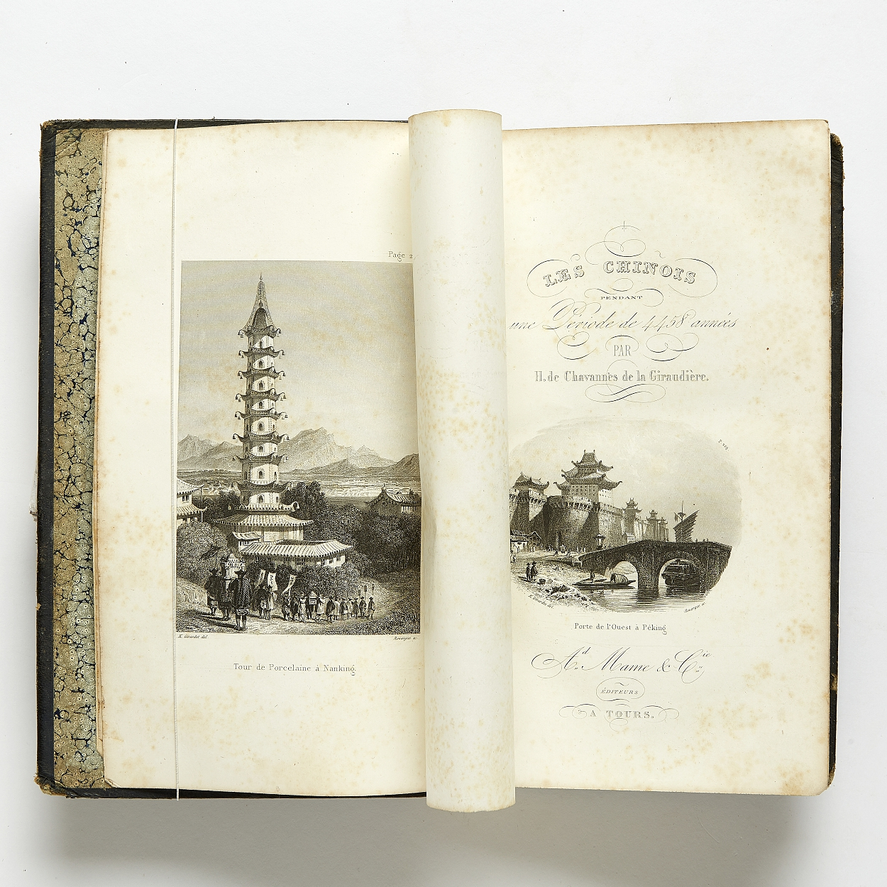 On the history of China 1854