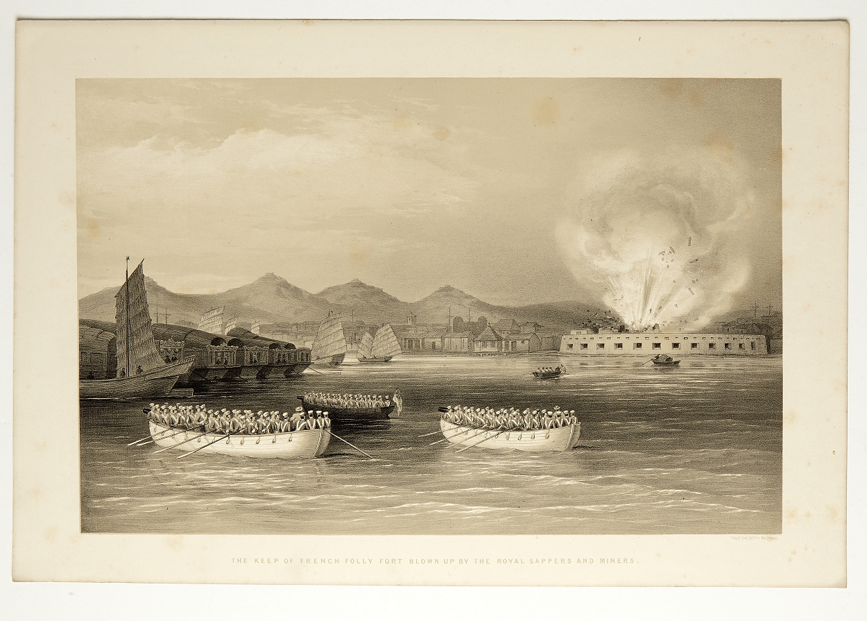 Martin Operations in the Canton River 1848