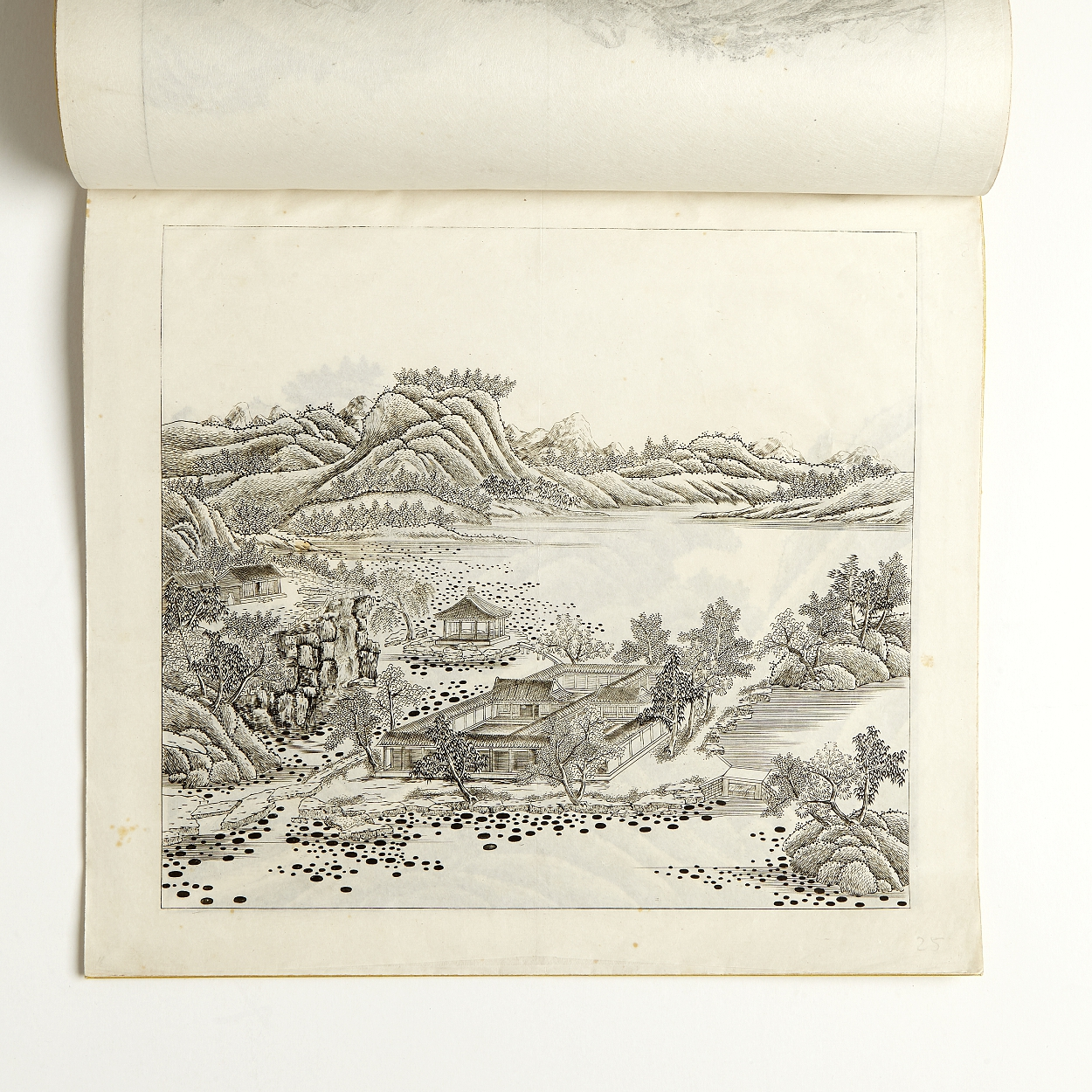 Engravings from the Emperor's garden at Rehe