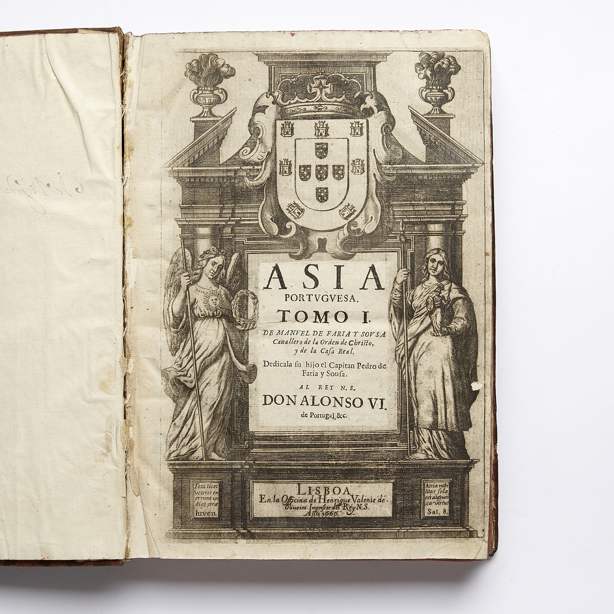 On Portugal's possessions in Asia by Faria Y Sousa