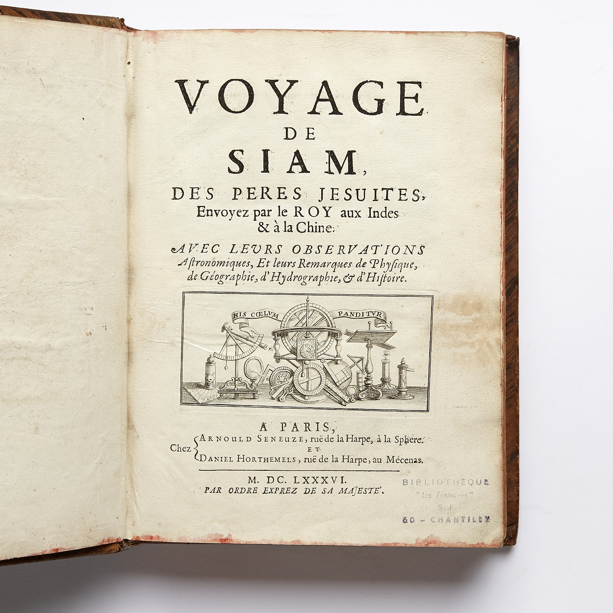 Tachard's two voyages to Siam 1686-89