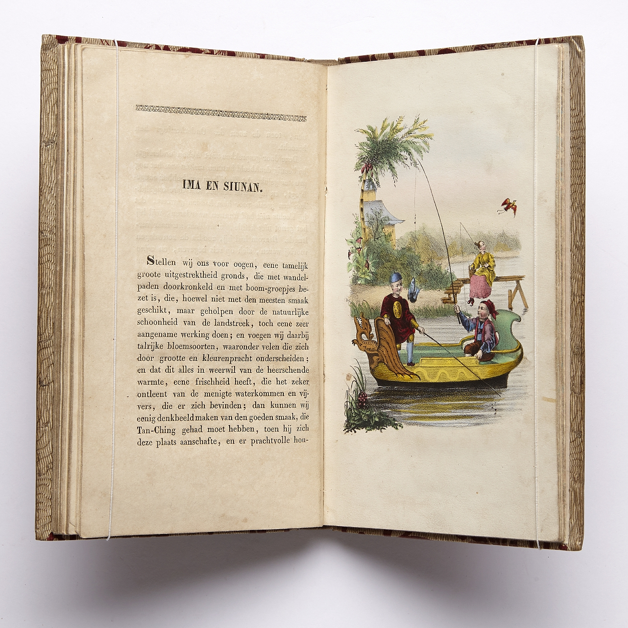 Verhalen uit China with coloured plates 1835