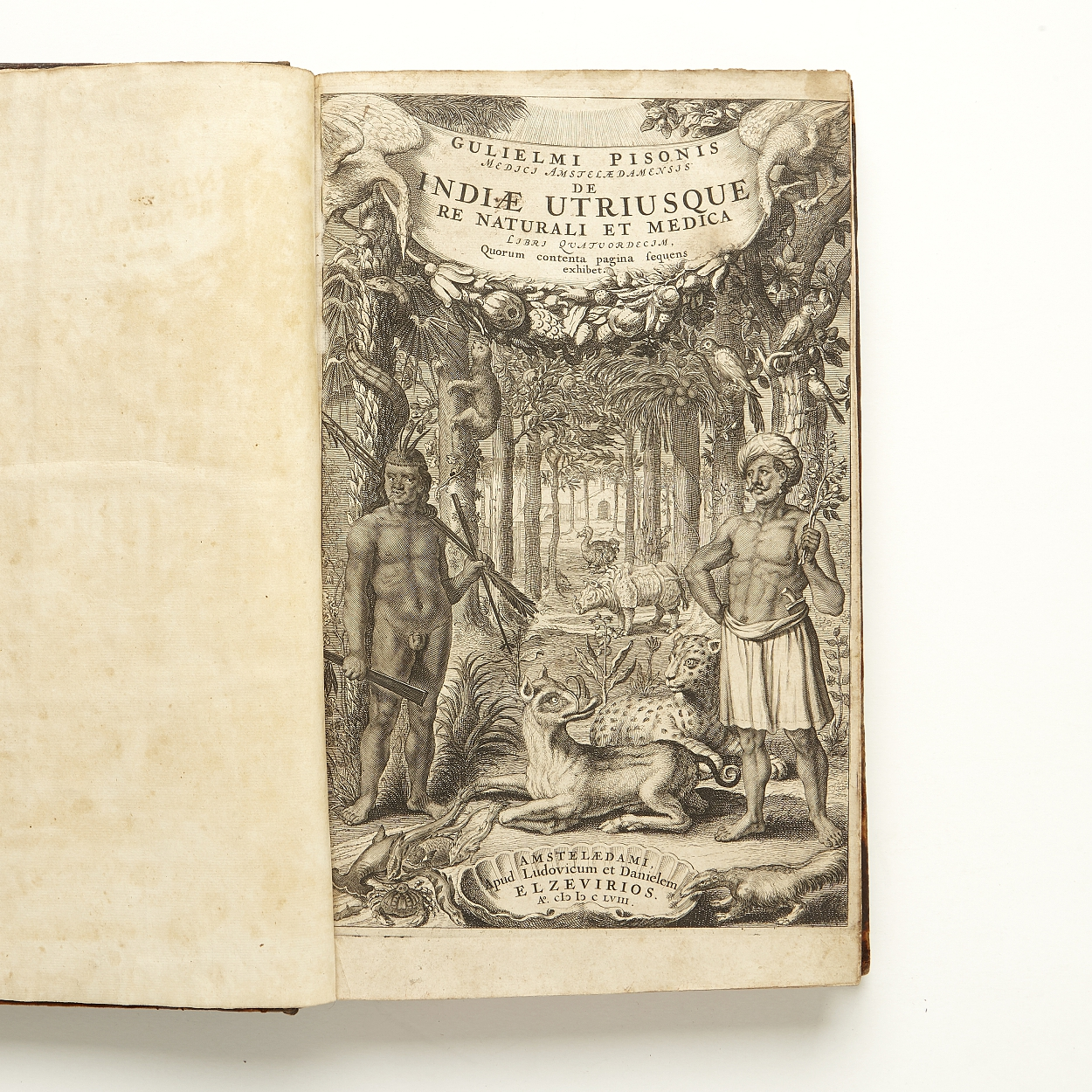 Piso on natural history and medicin of India 1658