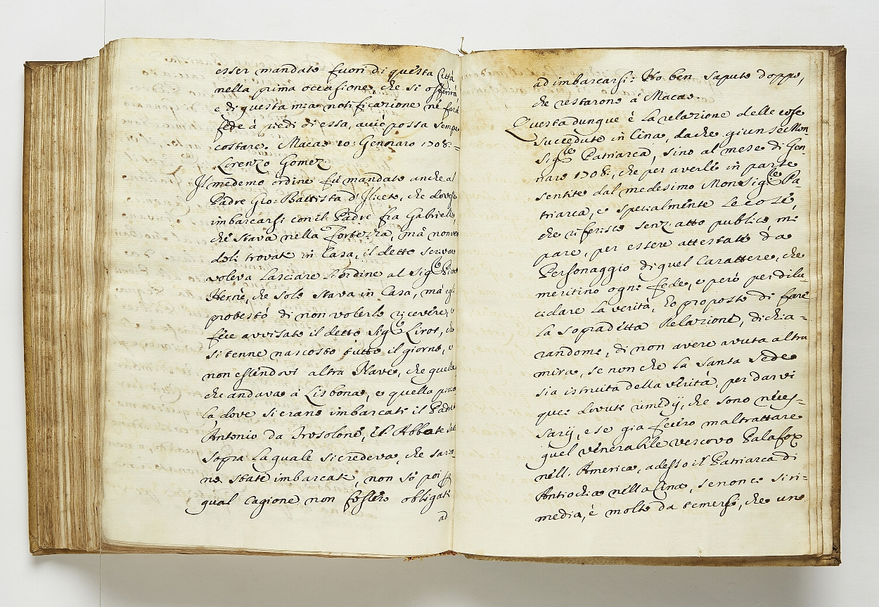 Contemporary copy of Sala's manuscript