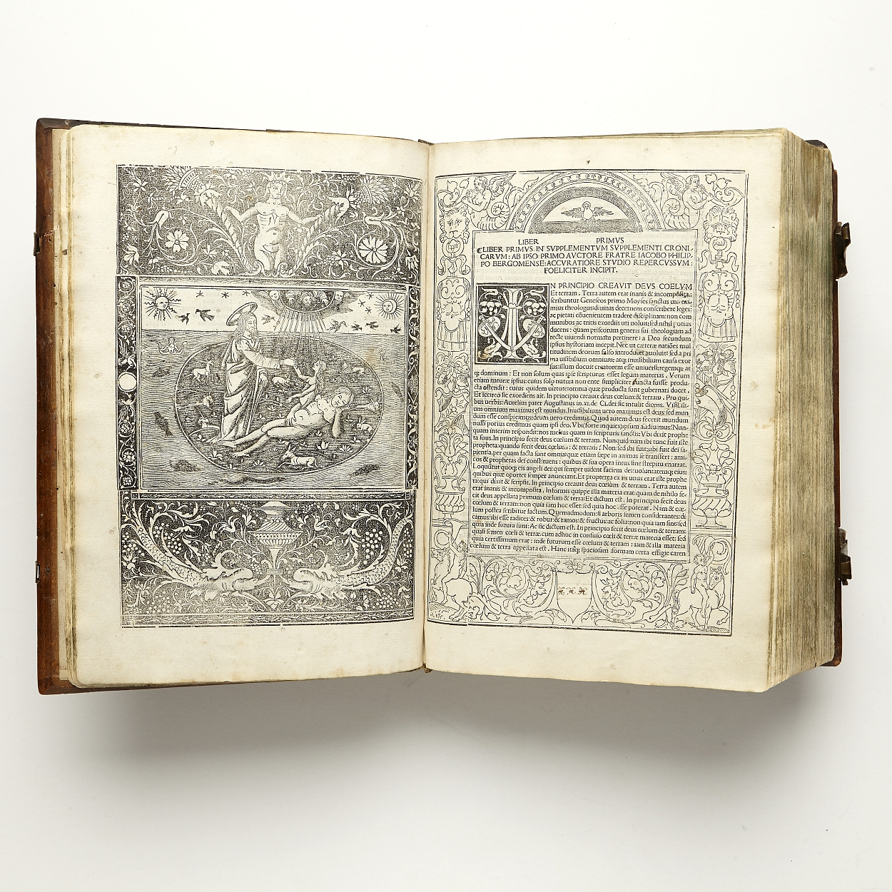 Foresti's richly illustrated chronicle Venice 1506