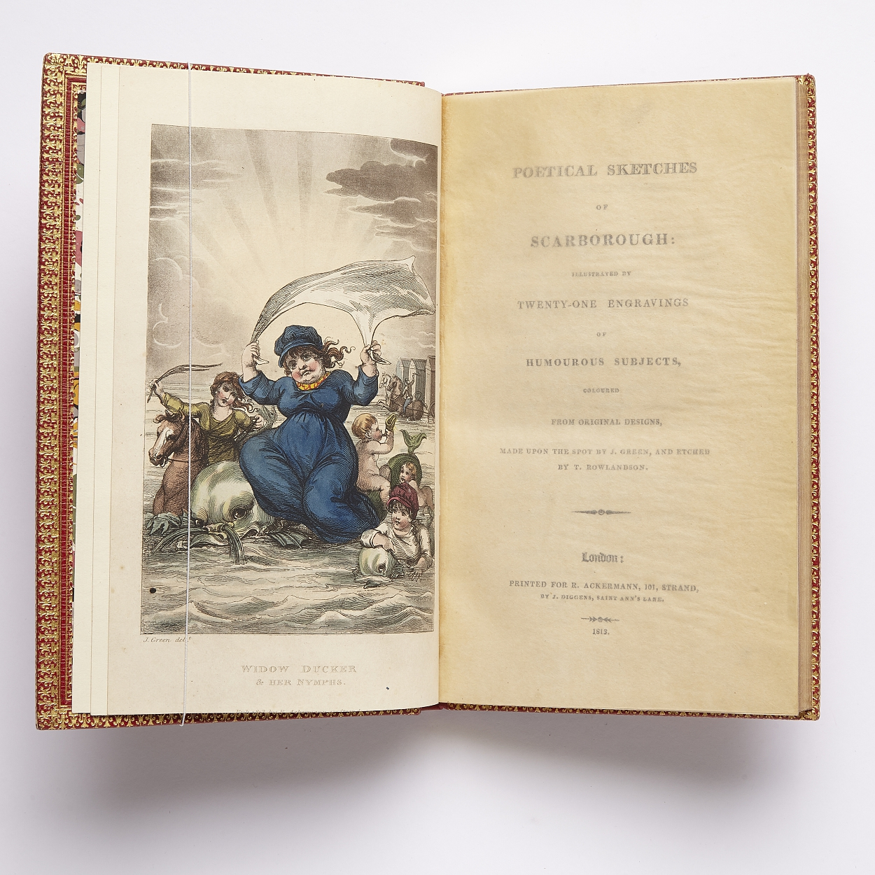 Rowlandson's illustrations to Poetical Sketches