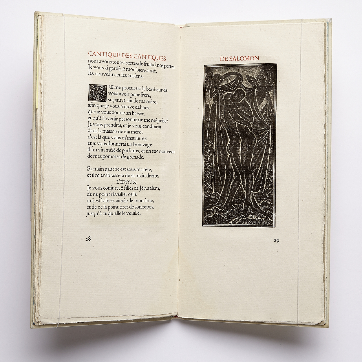 Cranach Press with wood engravings by Eric Gill