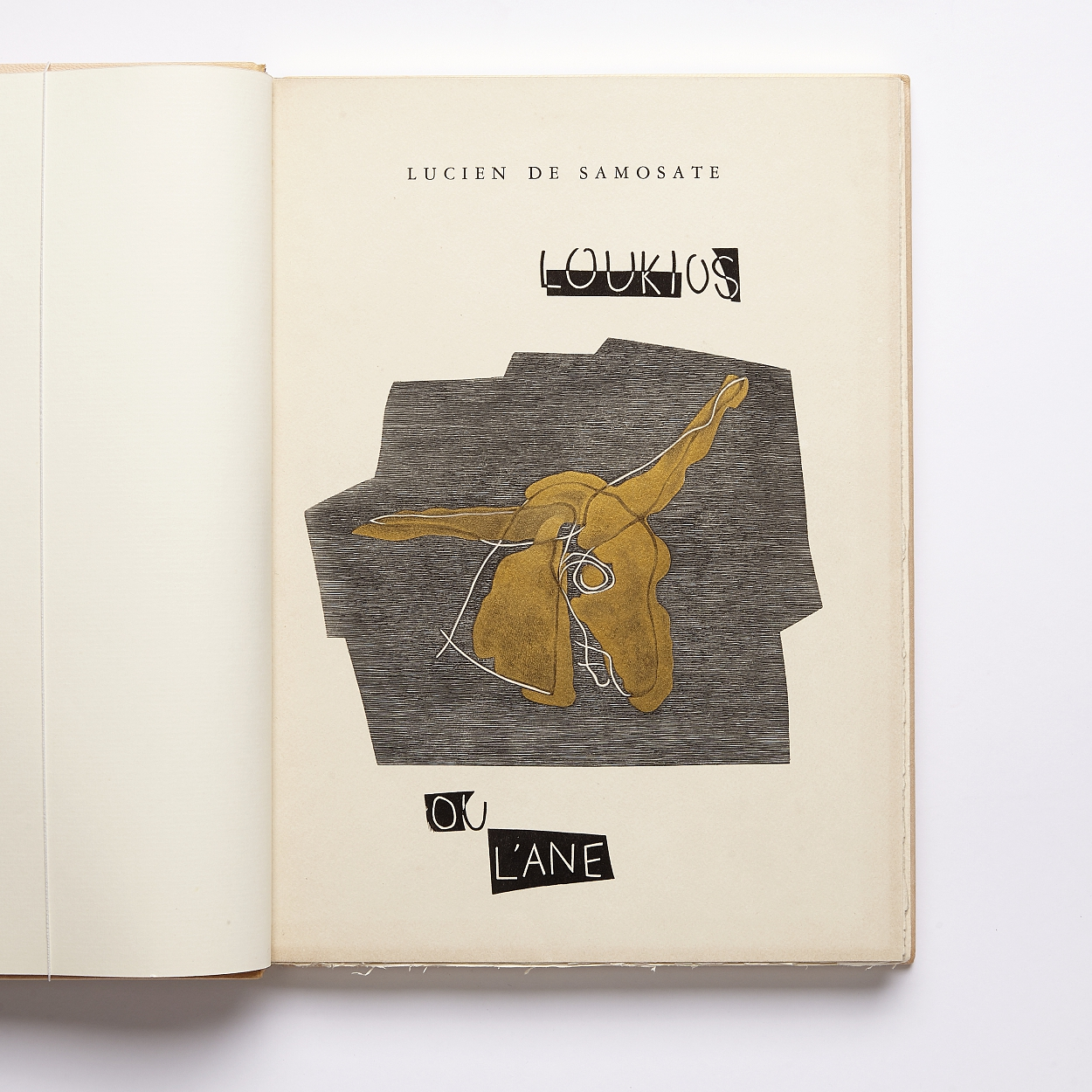 Samosate with woodcuts by Henri Laurens 1947