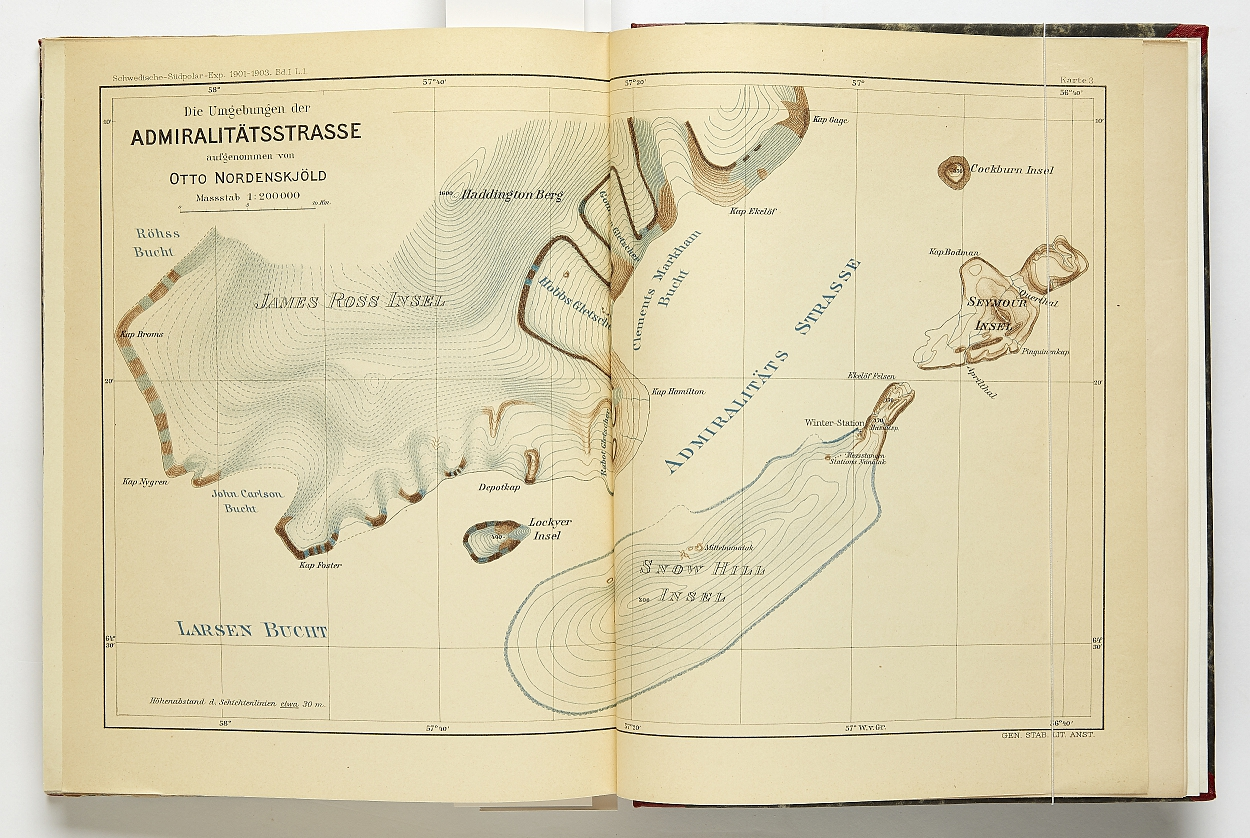 Ded. copy of Nordenskjöld's travels to South Pole