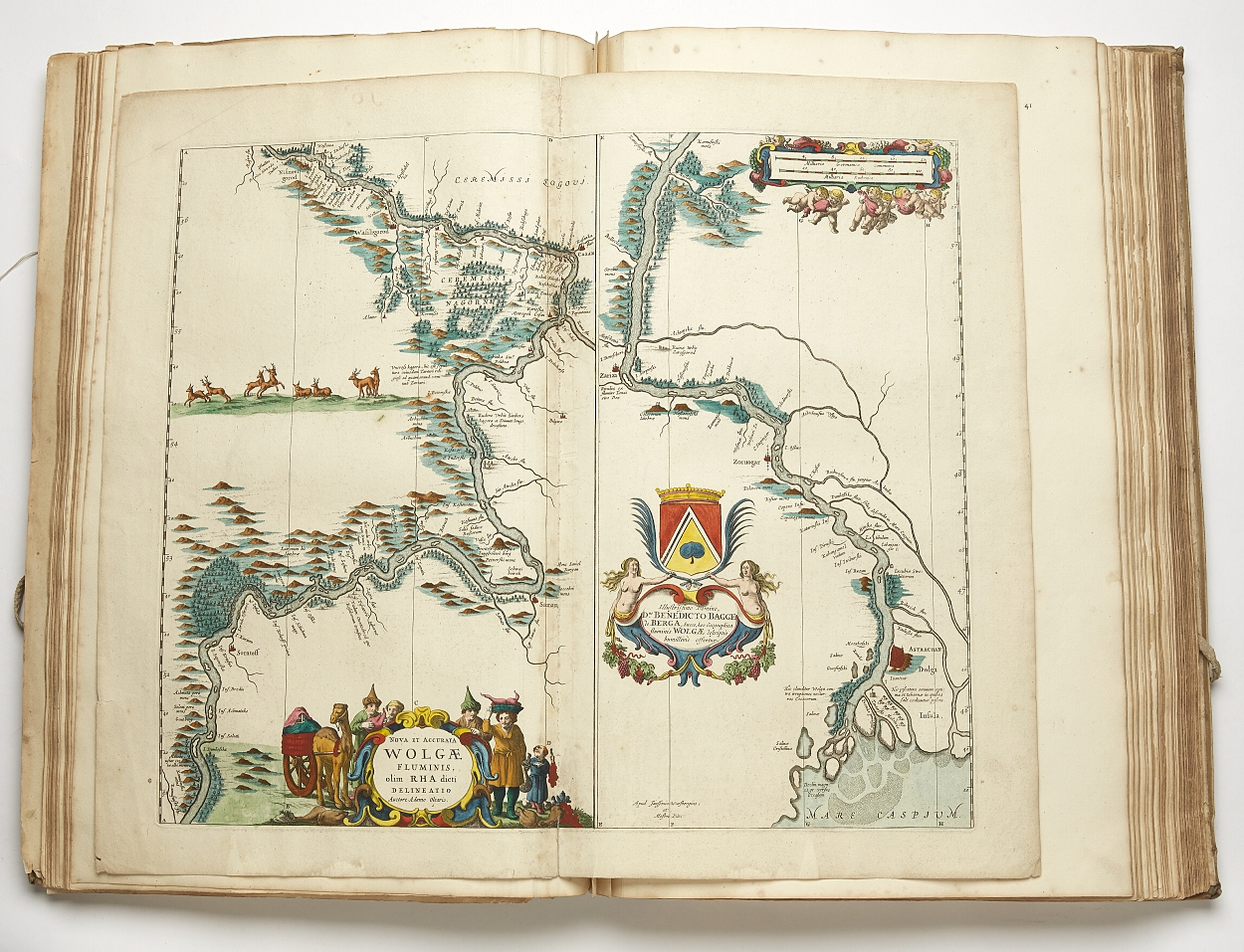 Moses Pitt The English Atlas vol 1 1680 24 maps