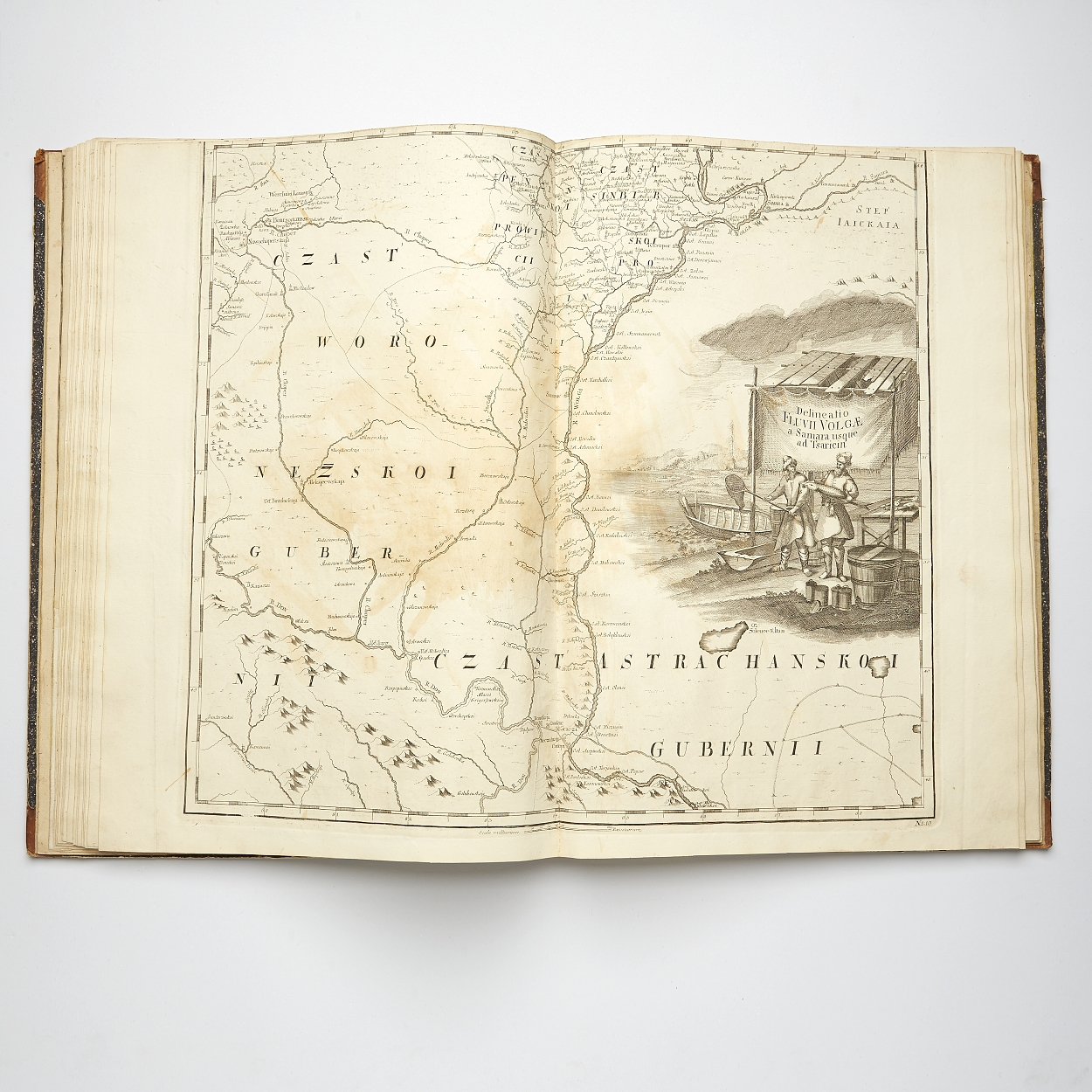 Delisle's Russian Atlas St. Petersburg 1745
