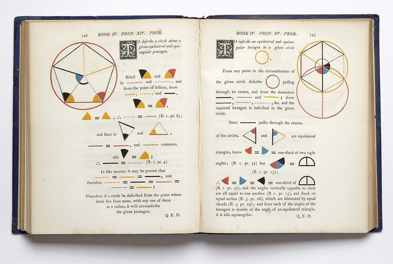 Euclidean geometry in four-colour printing 1847