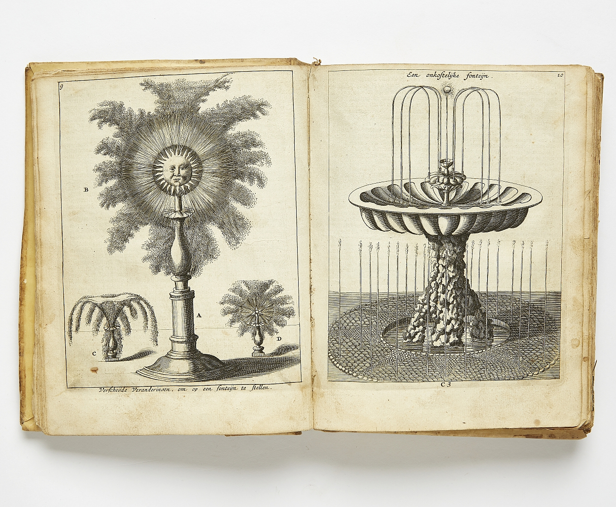 Rare work on garden plans Le Jardinier 1669-70
