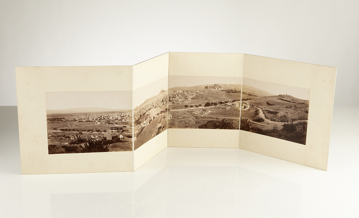 Panorama of Constantinopel and Athens c. 1890