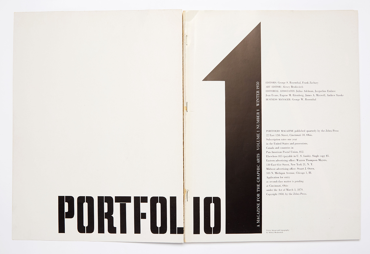 Portfolio Magazine complete in 3 issues