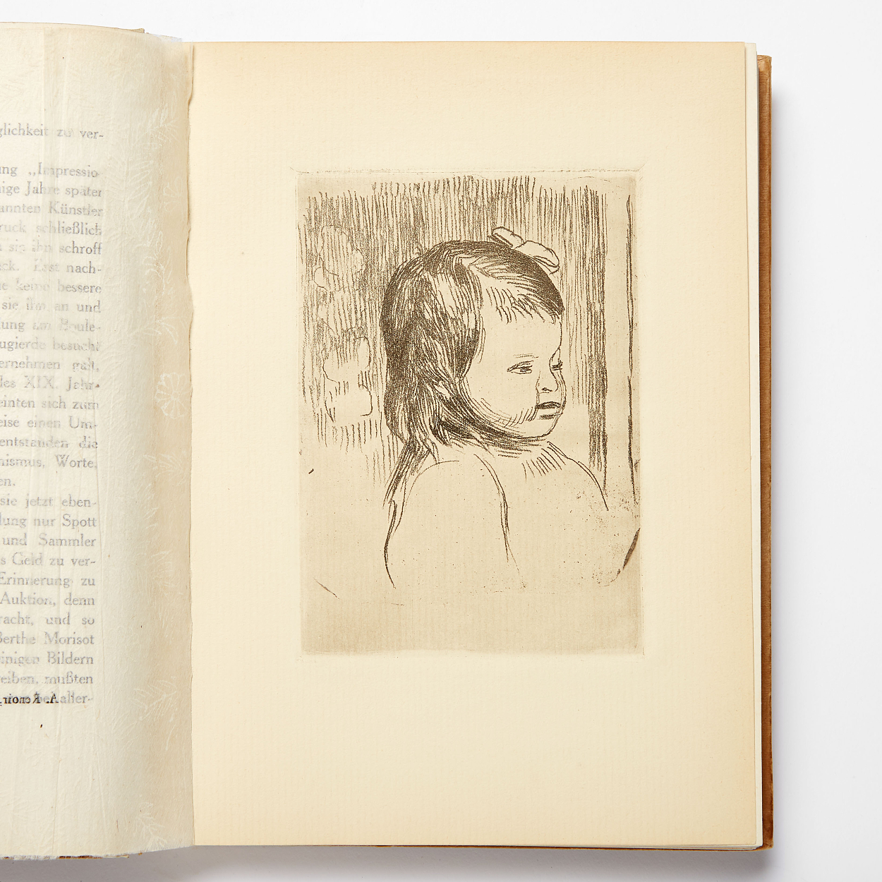 Duret with 2 etchings by Renoir