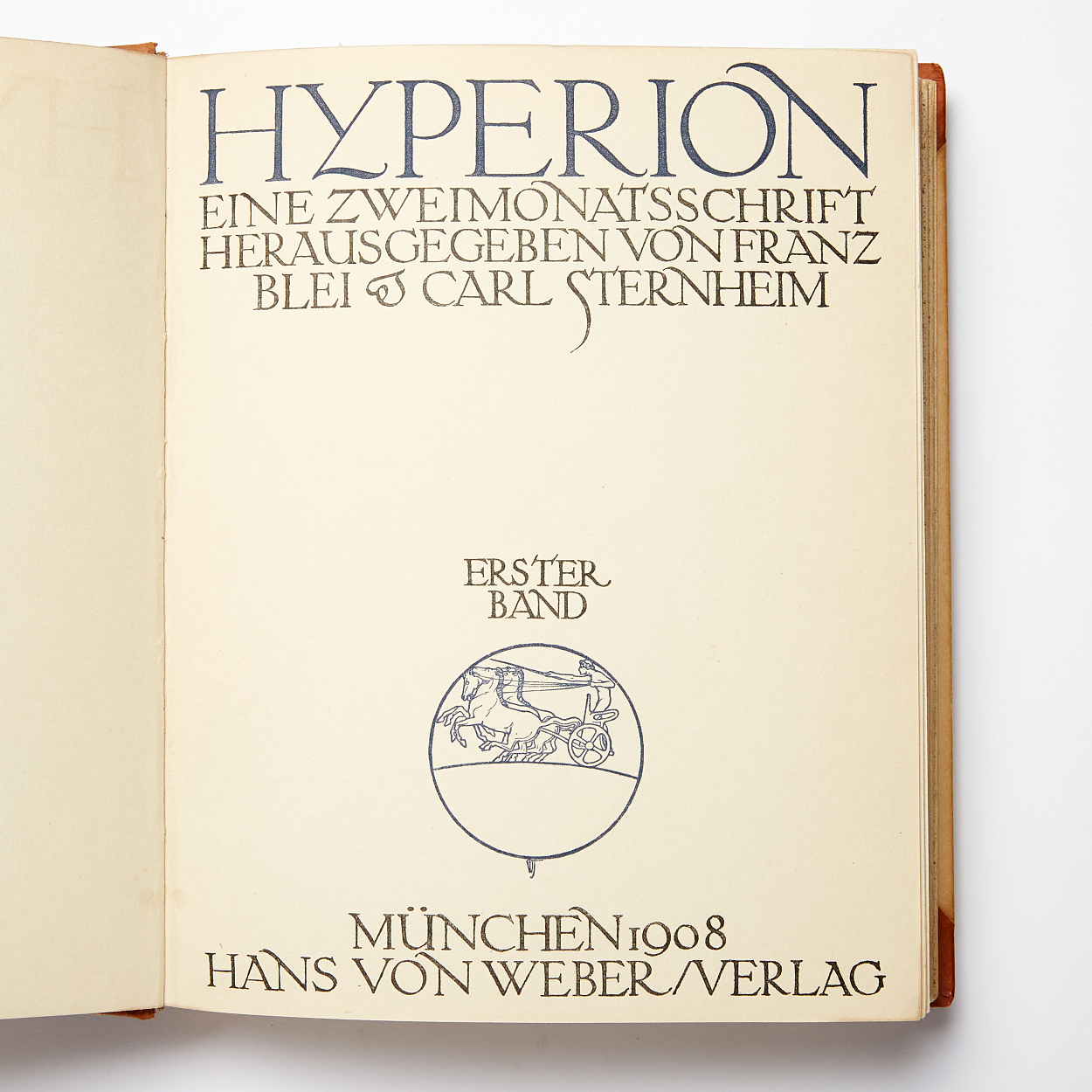 Hyperion - German magazine from 1908-10