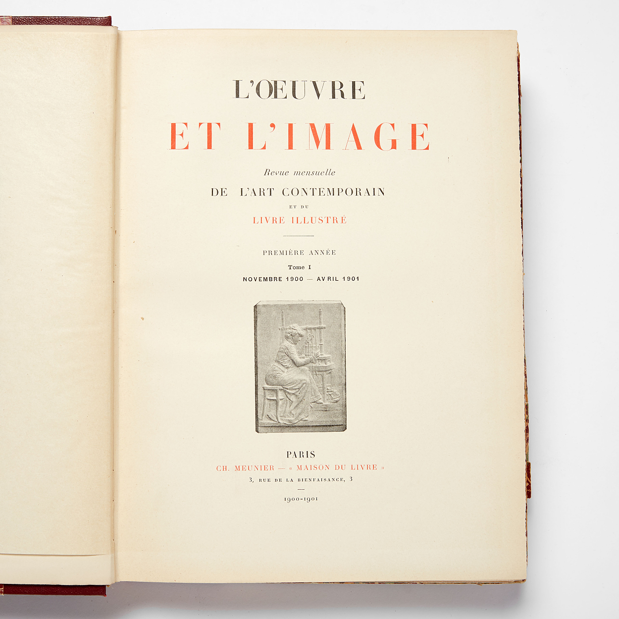 French Art Magazine L'oeuvre et l'image complete