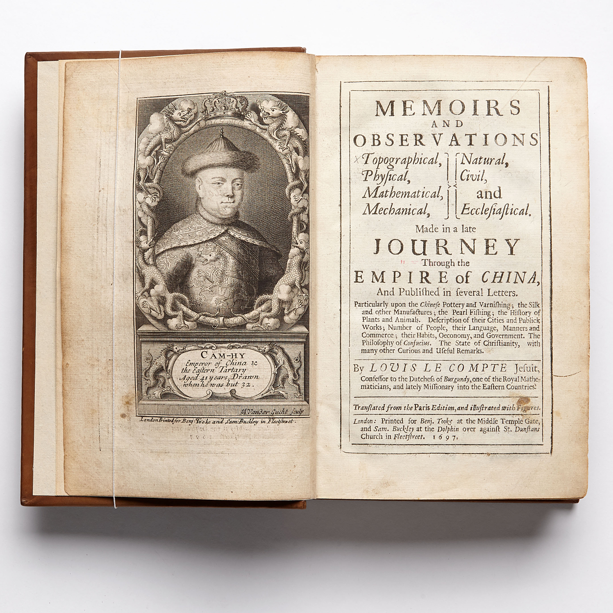 Le Comte's travels in China late 17th century