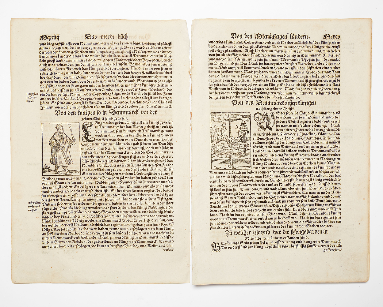 Extract Münster 1569 with woodcut maps and ills.