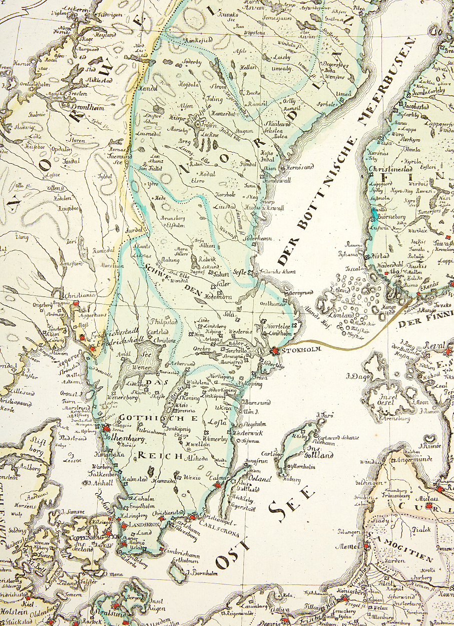 Thomas's war map of the Russo-Swedish war 1788