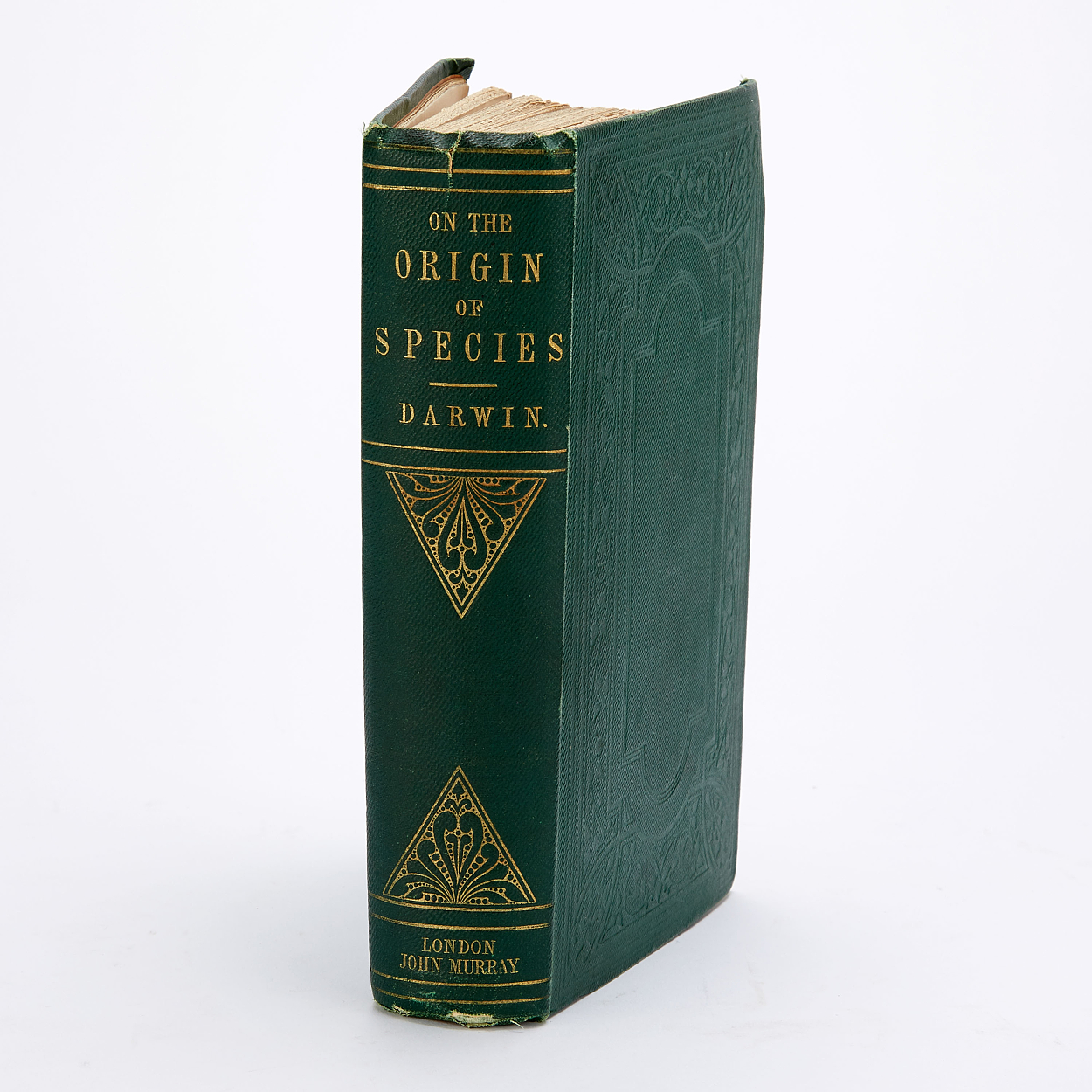 Darwin's On the Origin of Species 3rd ed. 1861
