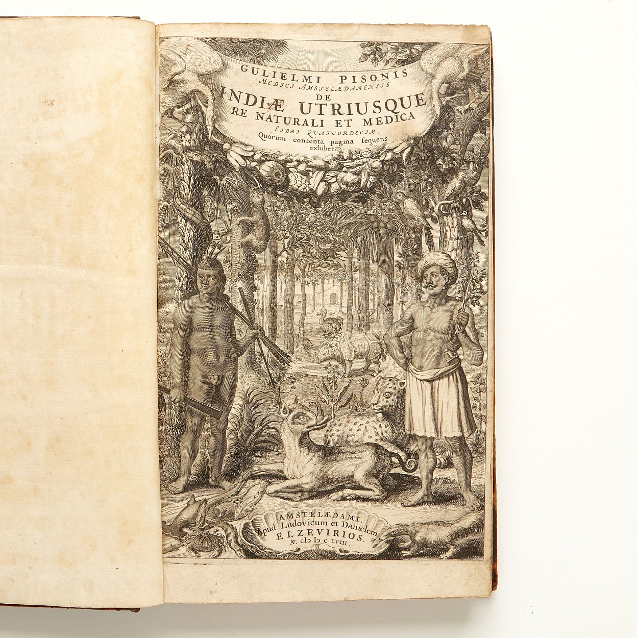 Piso on natural history and medicine of India 1658