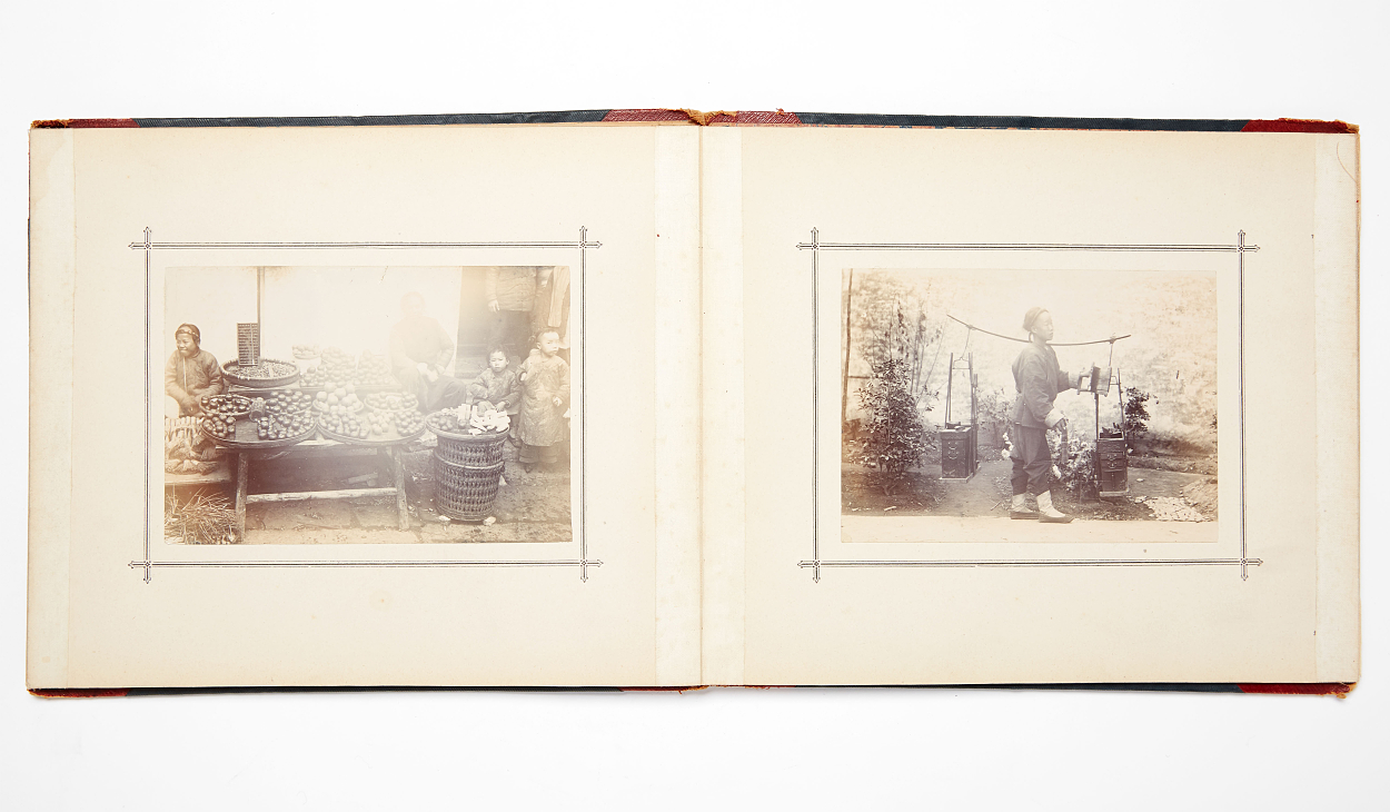 Photographies of Hankow in China 1900