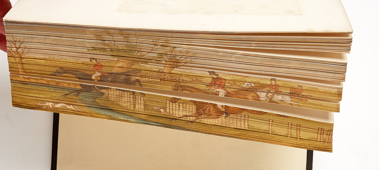 Fore-edge painting
