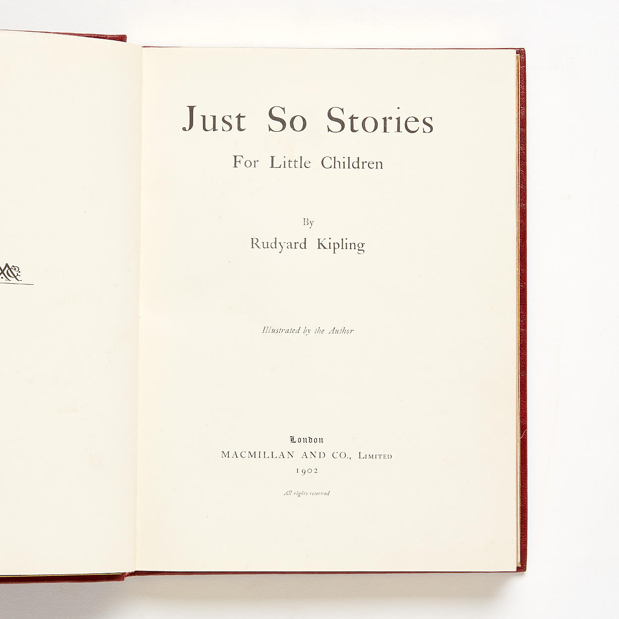 Bayntun binding for Kipling's Just So Stories 1902