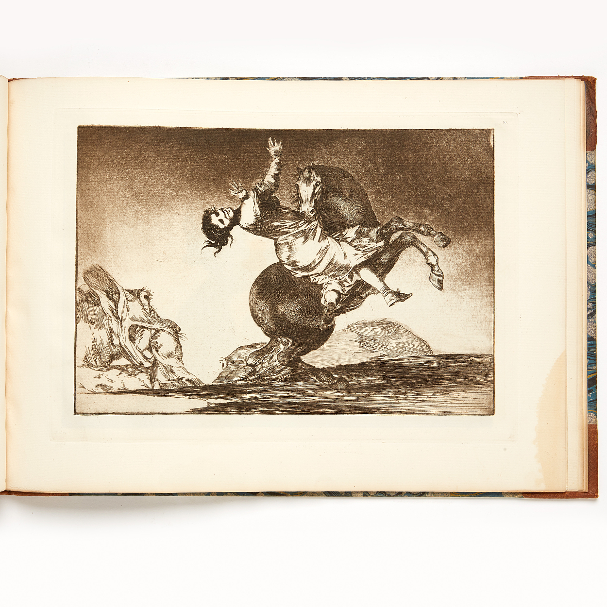 Goya Los Proverbios with 18 etchings 1916