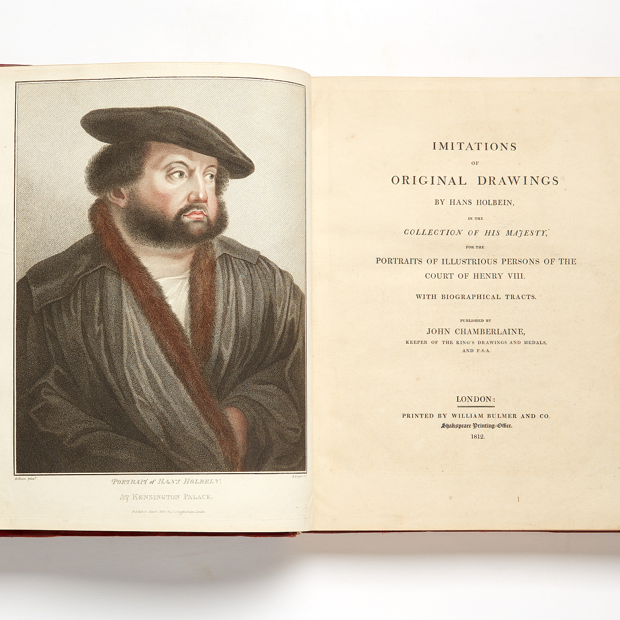 Chamberlain's Imitations of drawings by Holbein