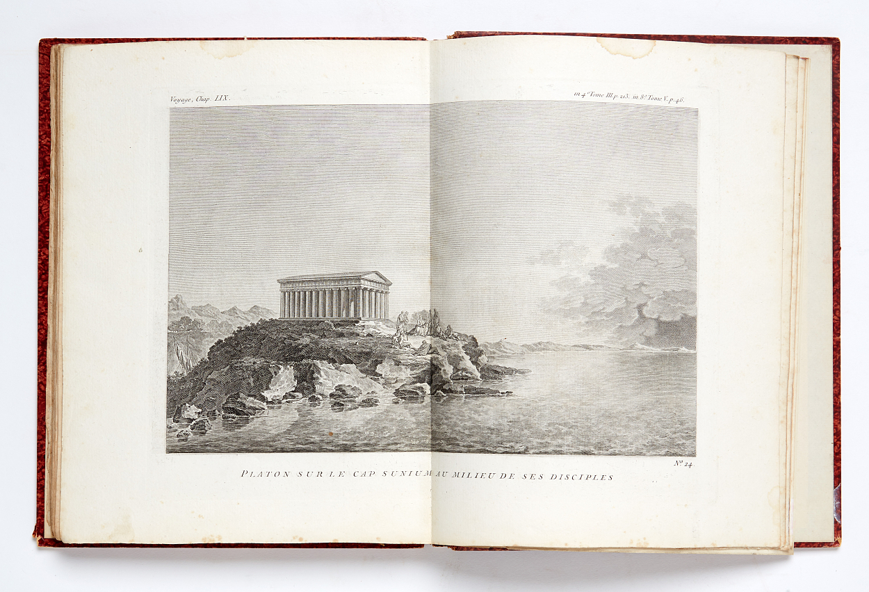 Travels in ancient Greece 5 volumes