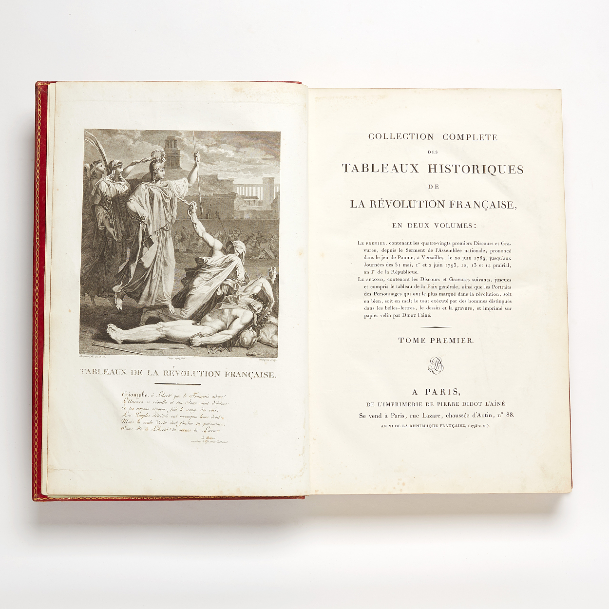 On the French revolution by Fauchet