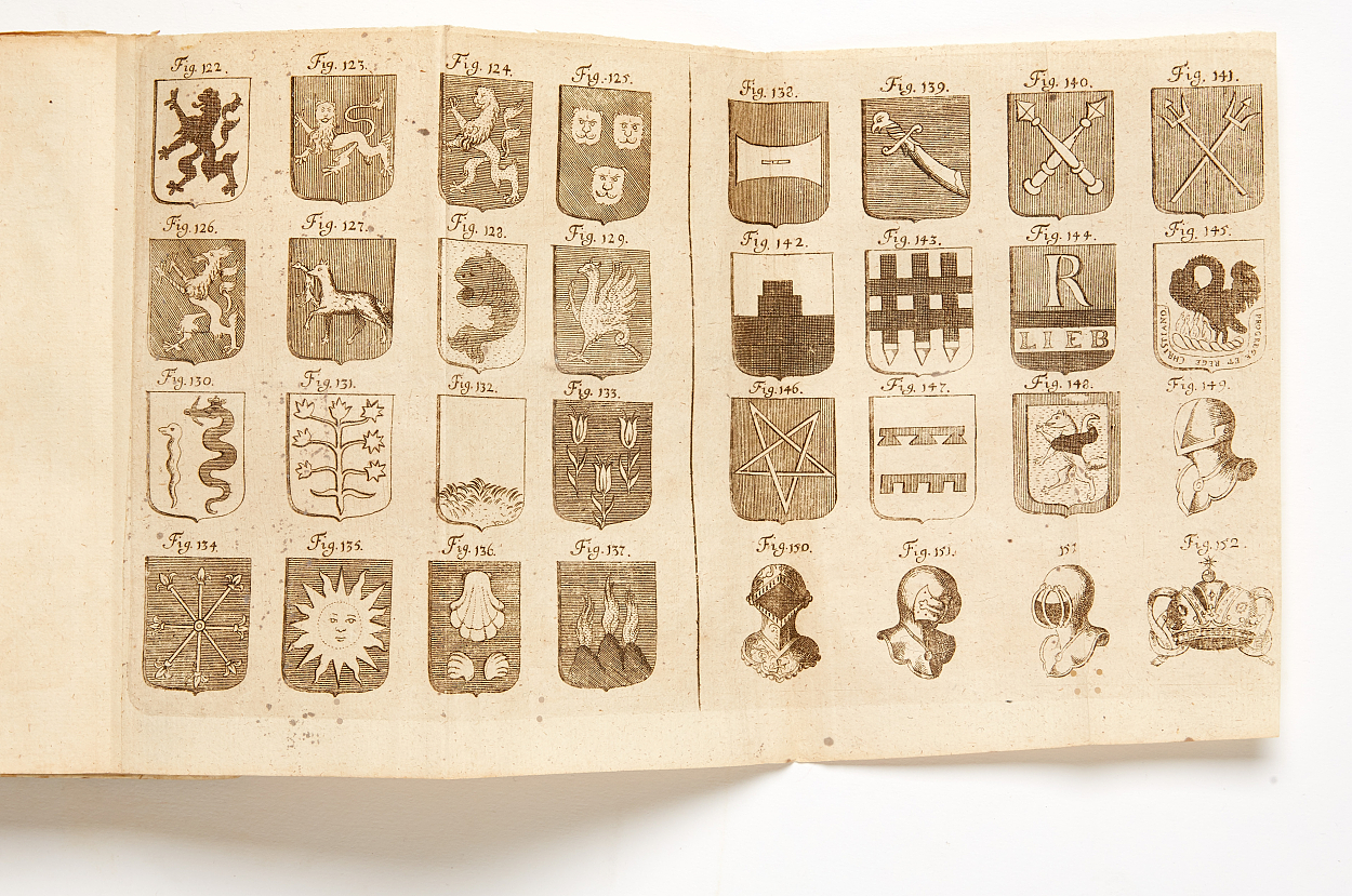 Heraldic works by Weber and Menestrier