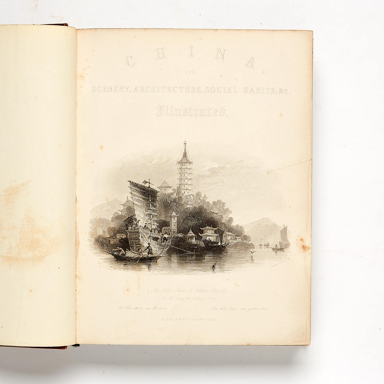 China illustrated in steelengravings by Th. Allom