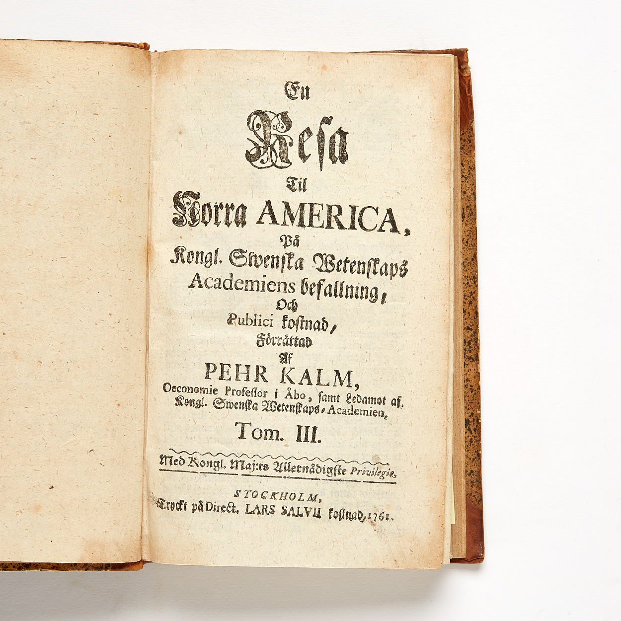 Kalm's travels in North America 2 volumes