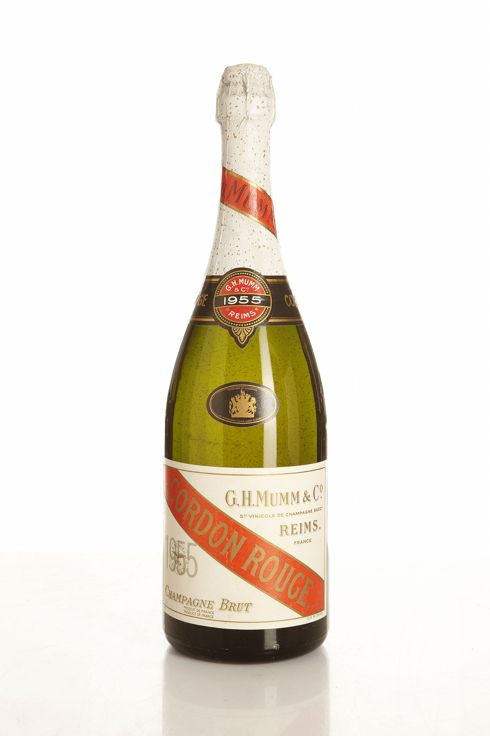 Cordon Rouge 1955, Mumm, Champagne, Stored in