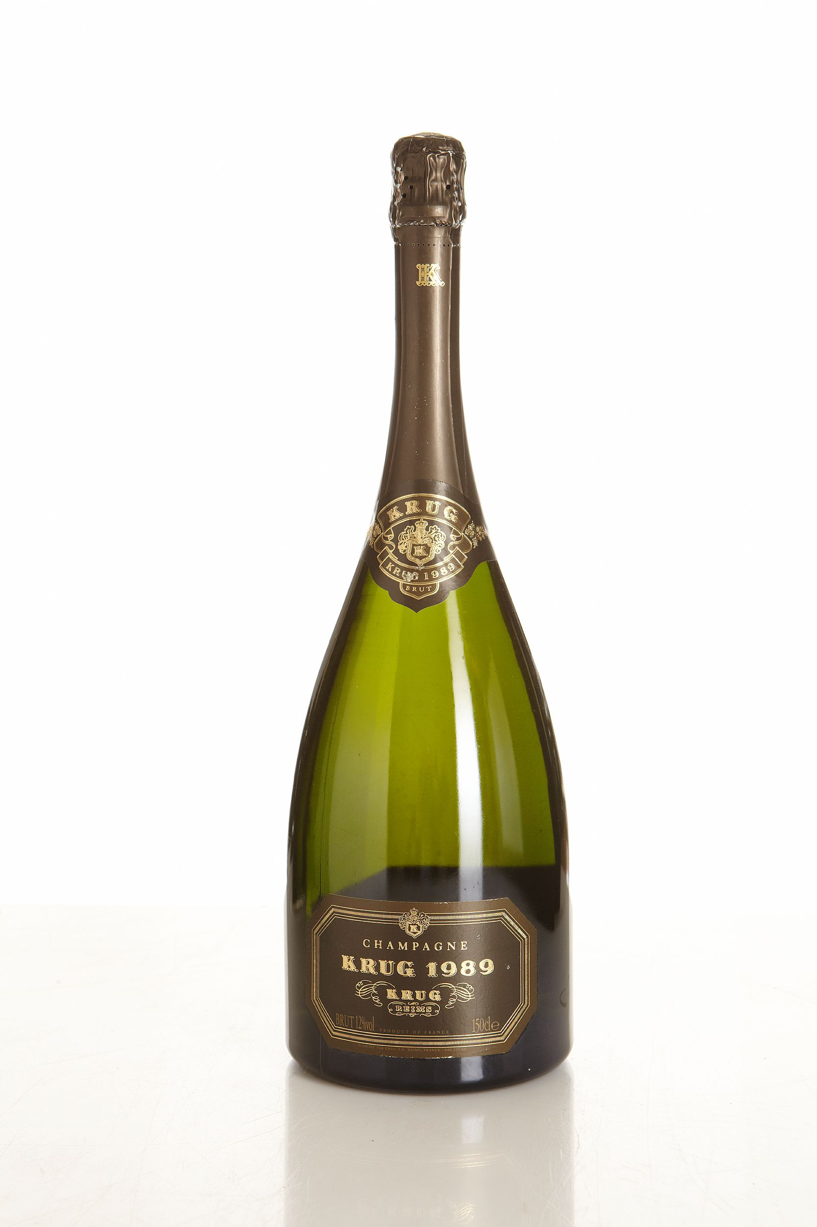 Krug 1989, Krug, Champagne, Stored in private